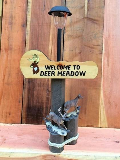 Deer Meadow Solar Lamp