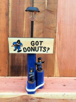 Got Donuts Solar Lamp