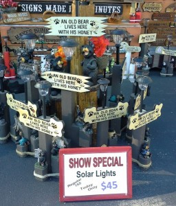 Old Bear Solar Lamps 2014