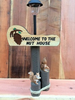 Welcome to the Nuthouse Solar Lamp