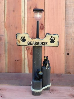 Bearadise Solar Light