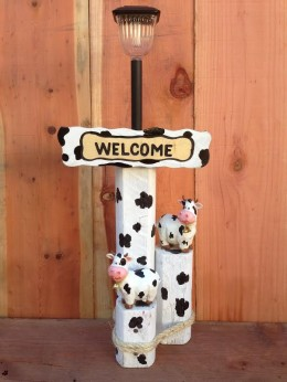 Cow Solar Light