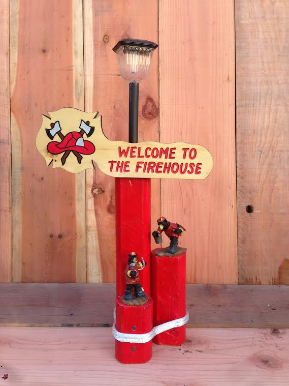 Welcome To The Firehouse Solar Light Trecos Products