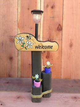 Flower Solar Light
