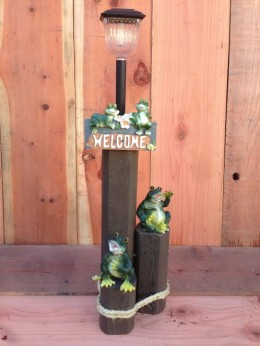 Frogs Solar Light