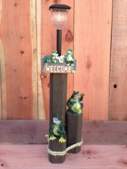 Frogs Solar Light